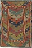 Vintage Swedish Rug by Marta Maas Fjetterstrom