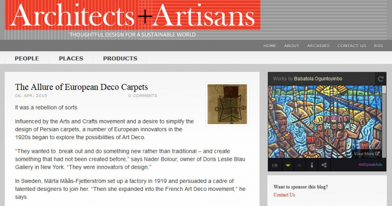 The Allure of European Deco Carpets