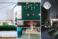 Top 10 Interiors in Night Watch - Color of the Year for 2019