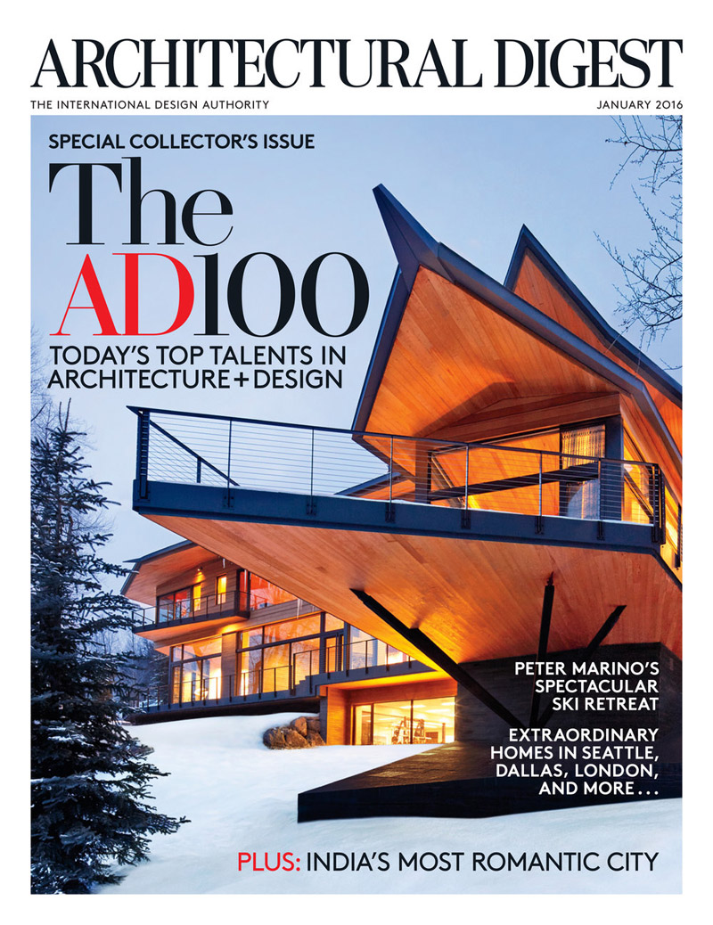 Architectural Digest January 2016 By Doris Leslie Blau