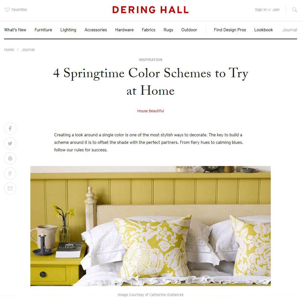 Dering Hall, March 2016