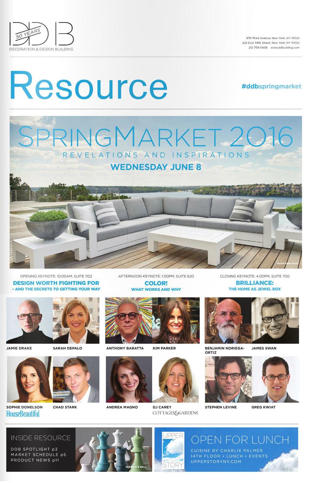 DDB Spring Market 2016