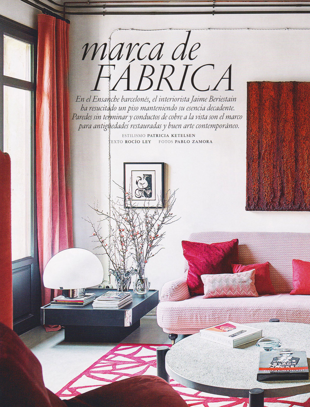 Reprinted from Architectural Digest. Spanish Edition, March 2016