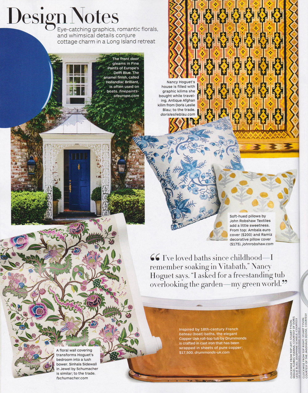 Reprinted from Architectural Digest, August 2016