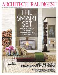 Architectural Digest, April 2015
