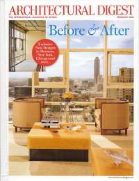 Architectural Digest, February 2009