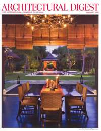 Architectural Digest, January 2008