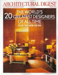 Architectural Digest, January 2010