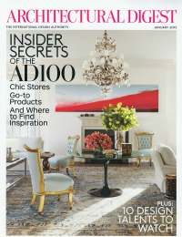 Architectural Digest, January 2013