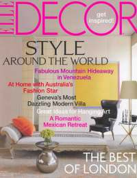 Elle Decor, April 2007