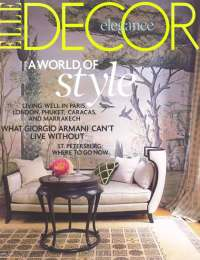 Elle Decor, April 2008