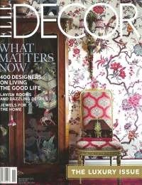 Elle Decor, November 2012