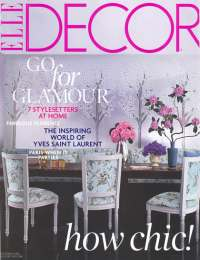 Elle Decor, Oktober 2008