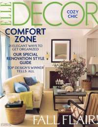 Elle Decor, September 2007