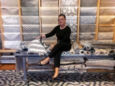 Doris Leslie Blau's gallery director, Madeleine Mitchell