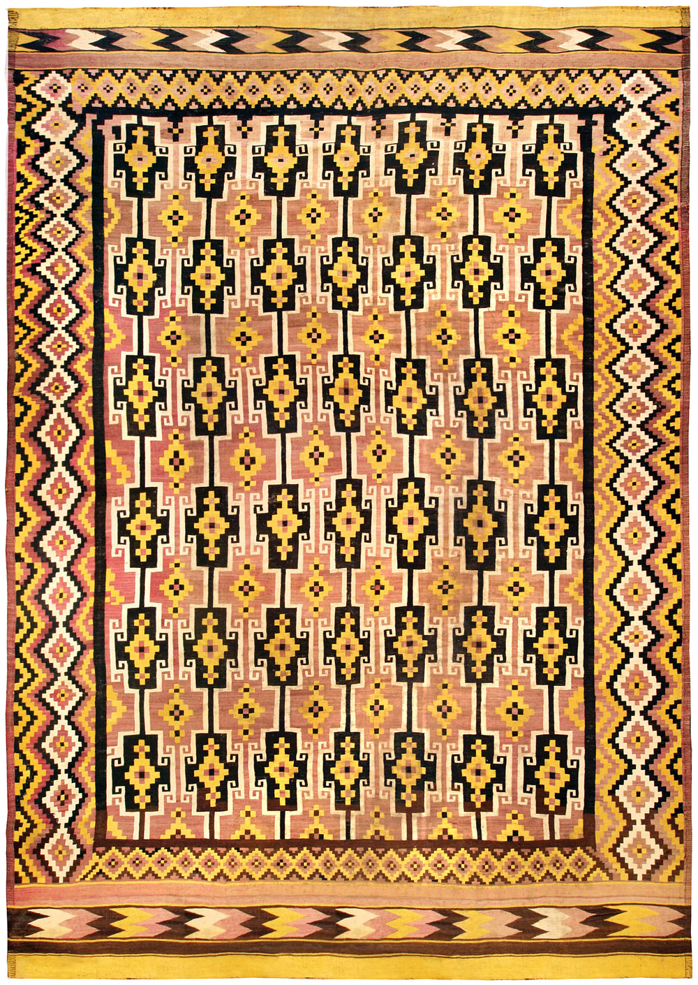 Doris Leslie Blau Antique Afghan Kilim BB4480