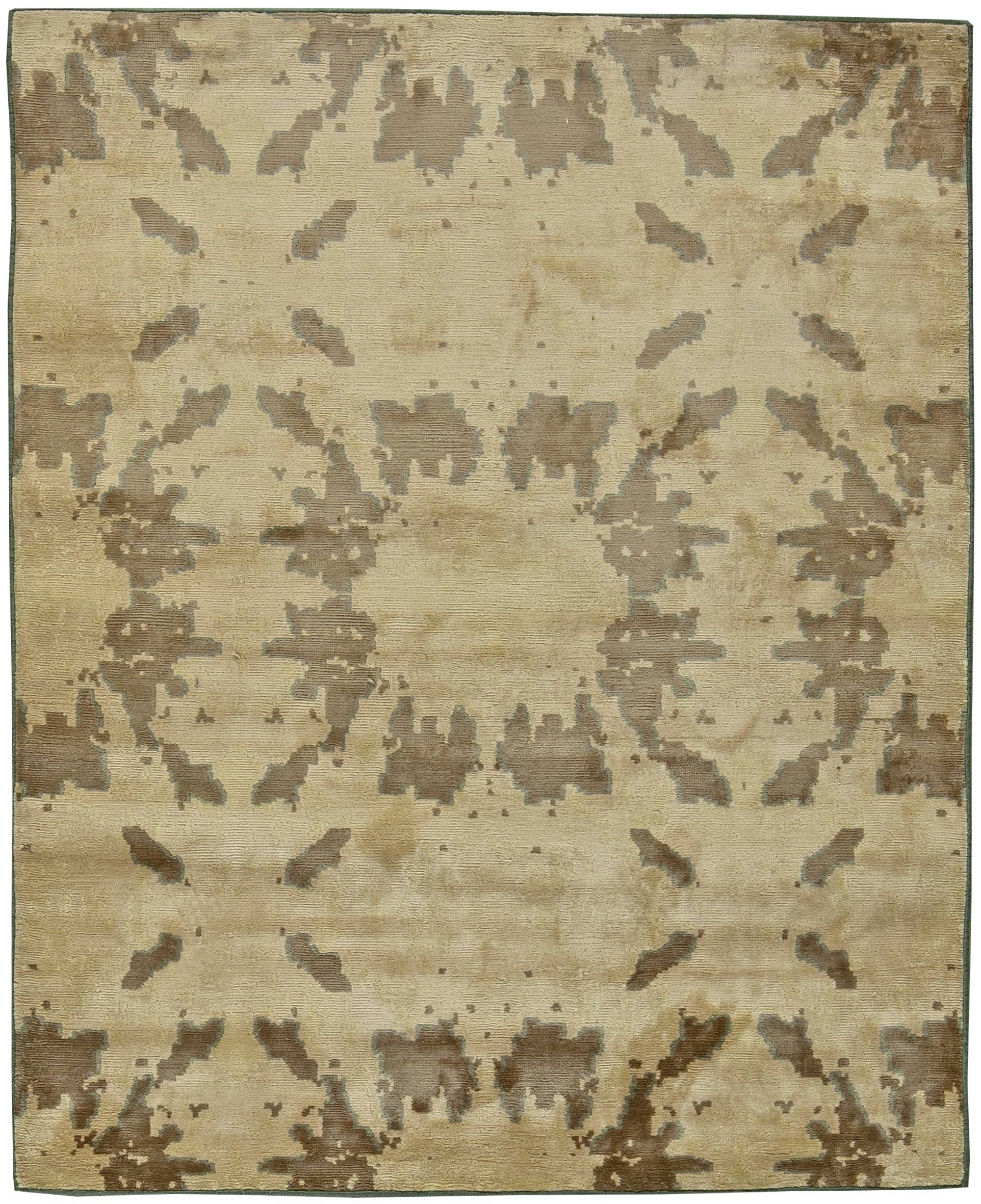 Abstract Rugs Area Carpets For Sale New Modern Wool Rug