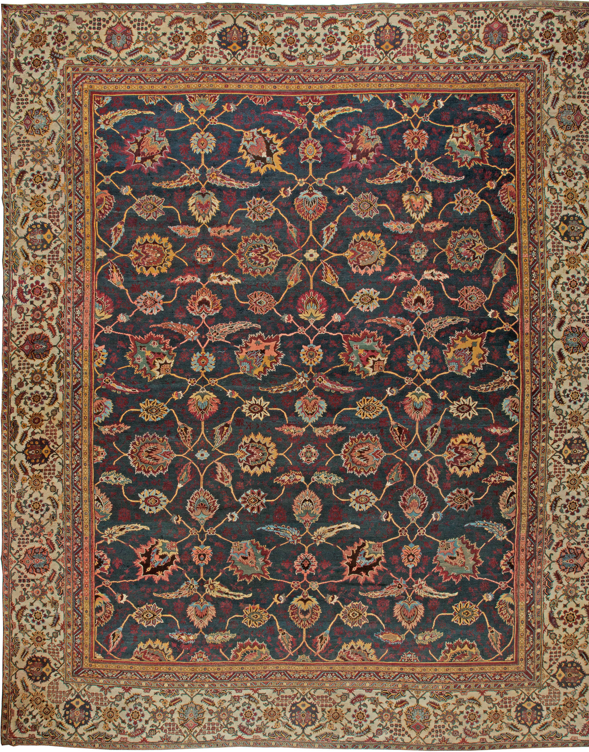 Antique Amritsar Rugs & Carpets For Sale (Indian Amritsar ...