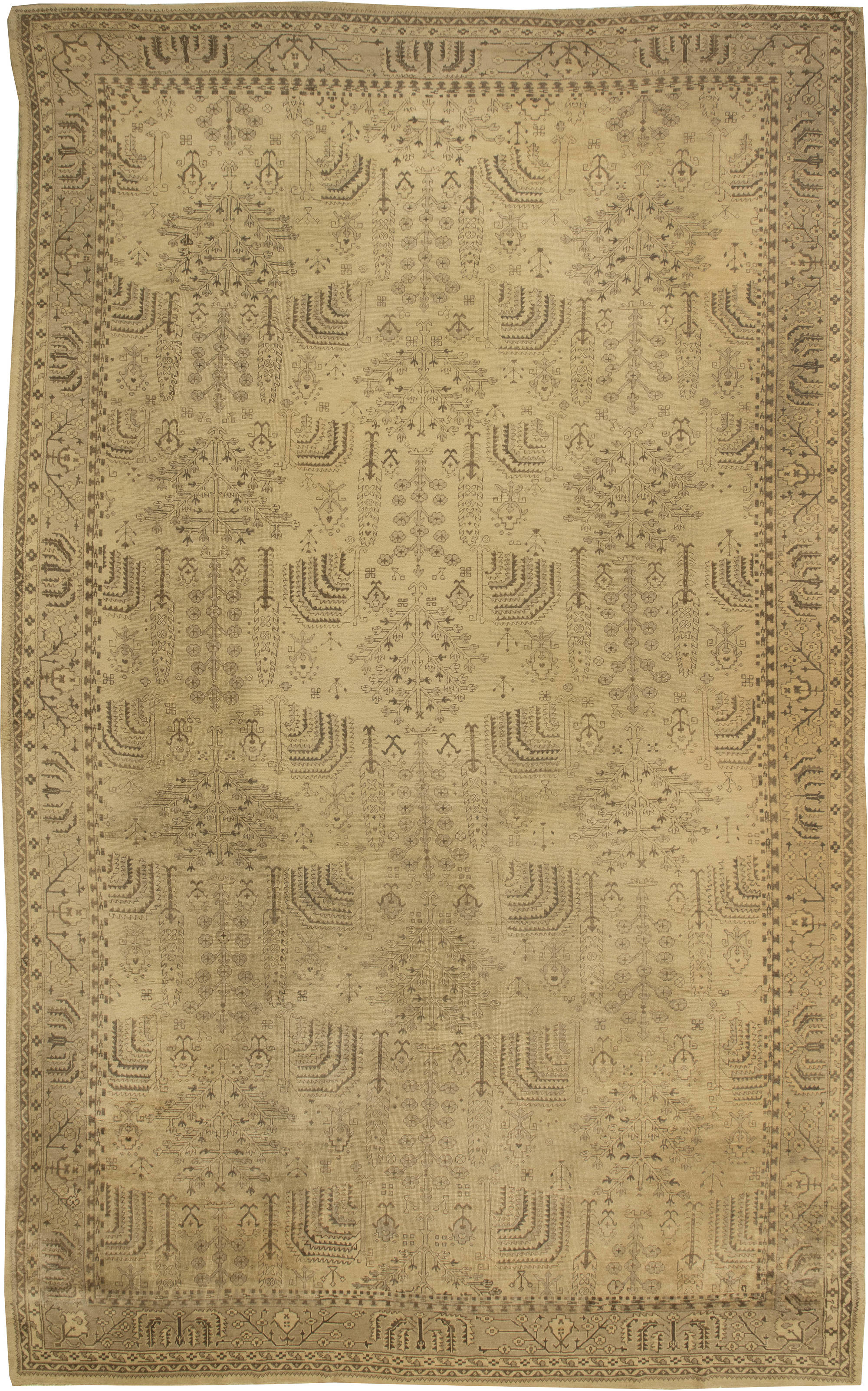 a center rugs turkish of design kula antique piece rug by sold genuine circa santa art carpet barbara woven