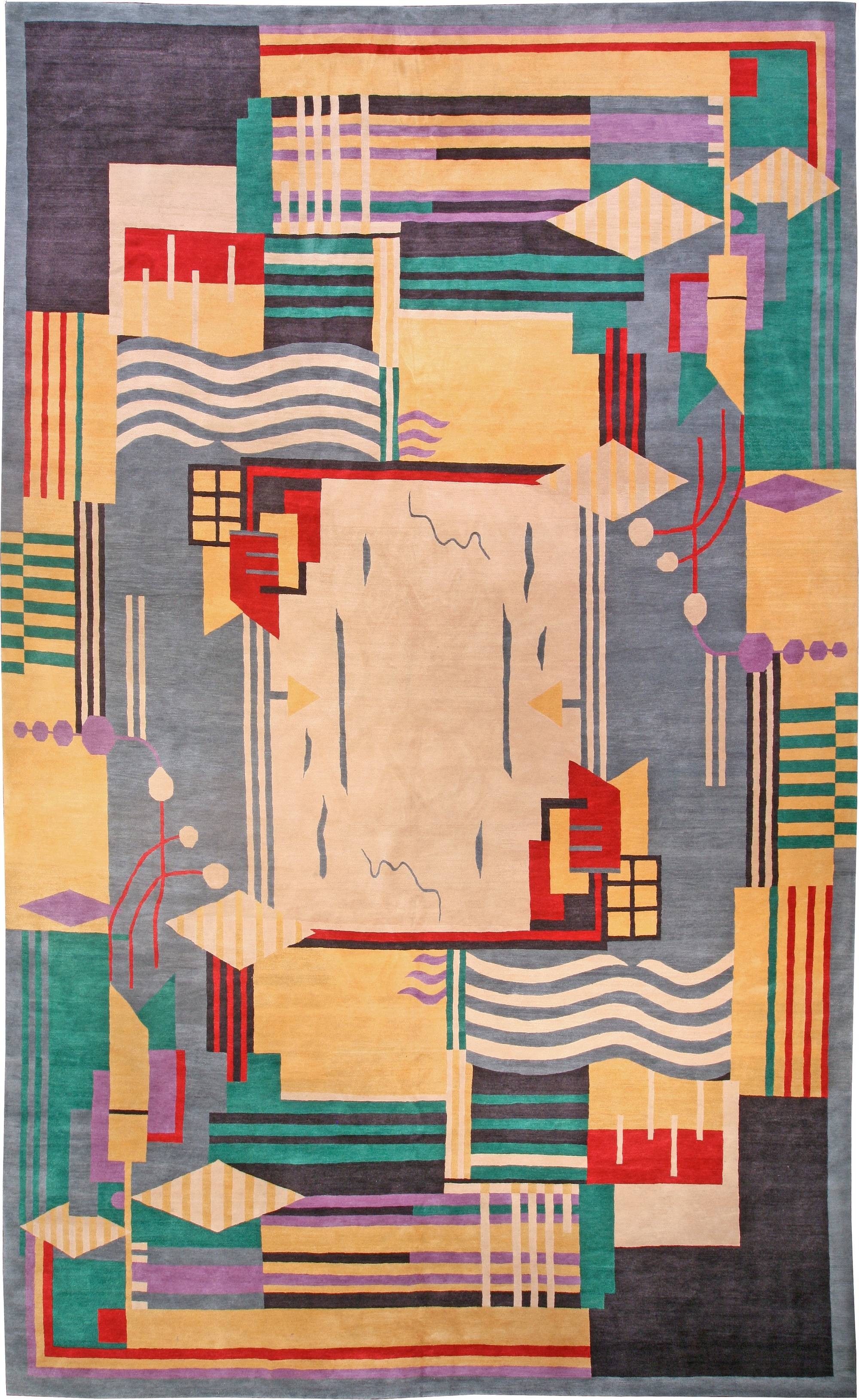 Art Deco Rugs Oriental Carpets For Sale Large Area
