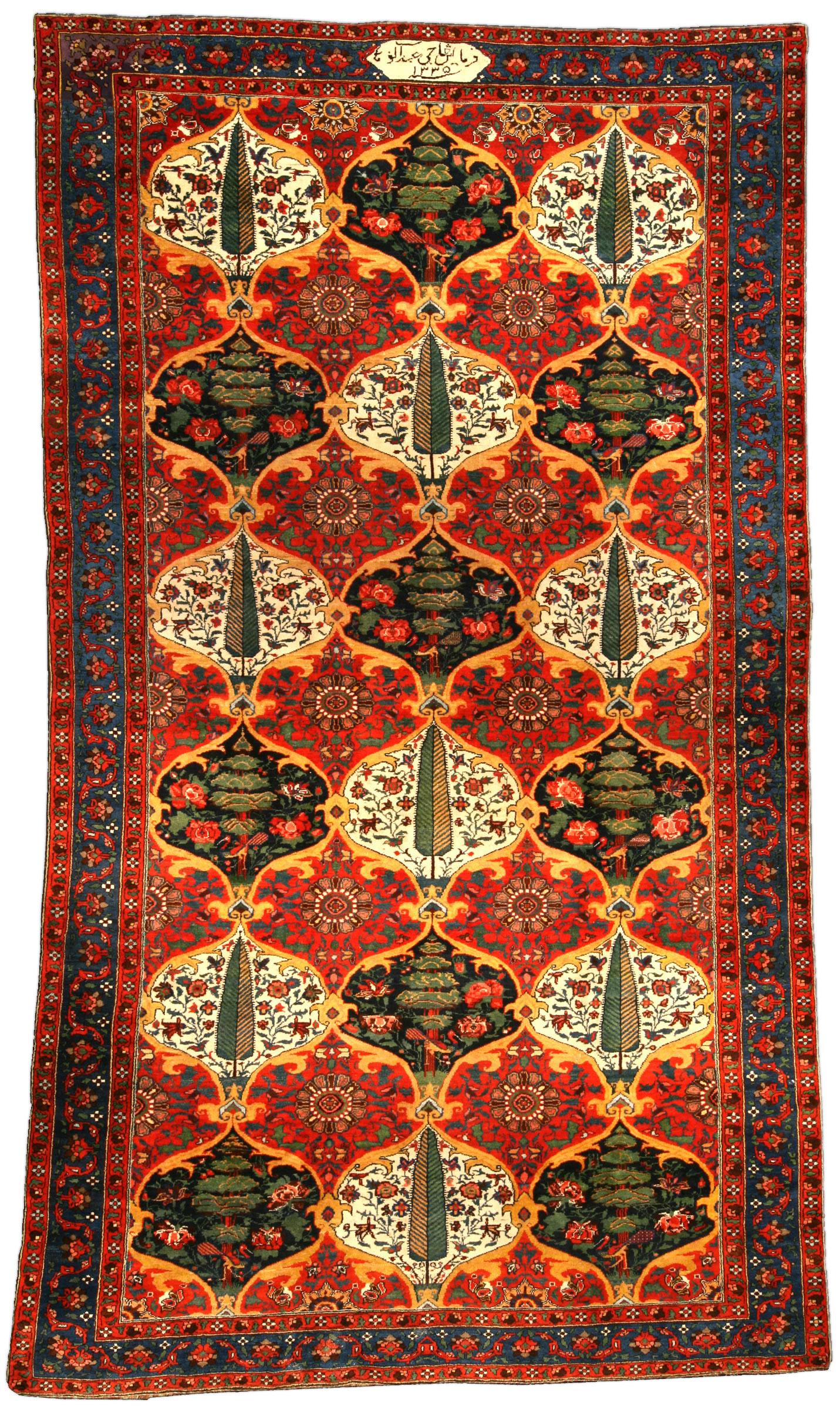 Bakhtiari Rugs Amp Carpets For Sale Antique Oriental