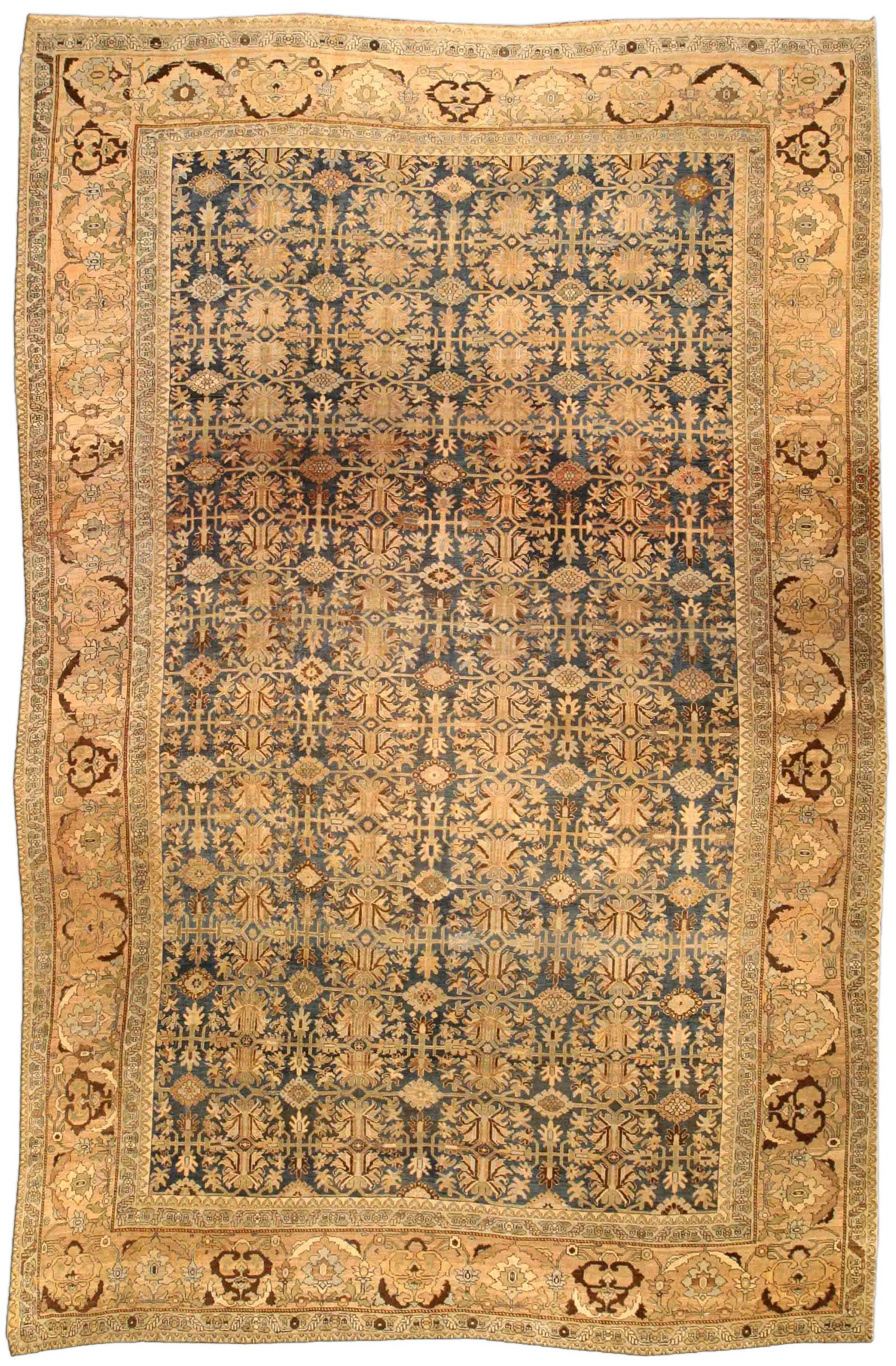 Antique Bidjar Persian Rug