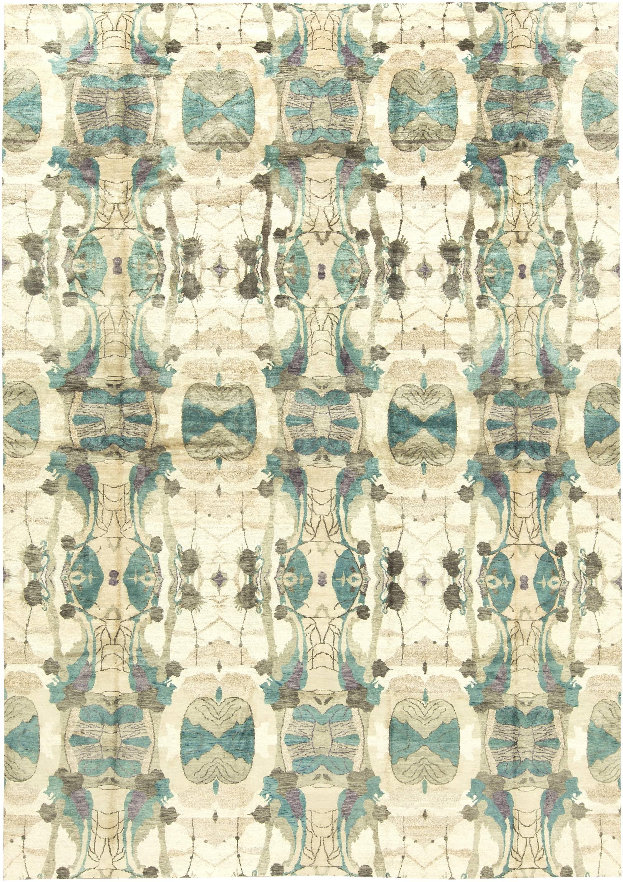 Moderne eskayel dynasty teppich