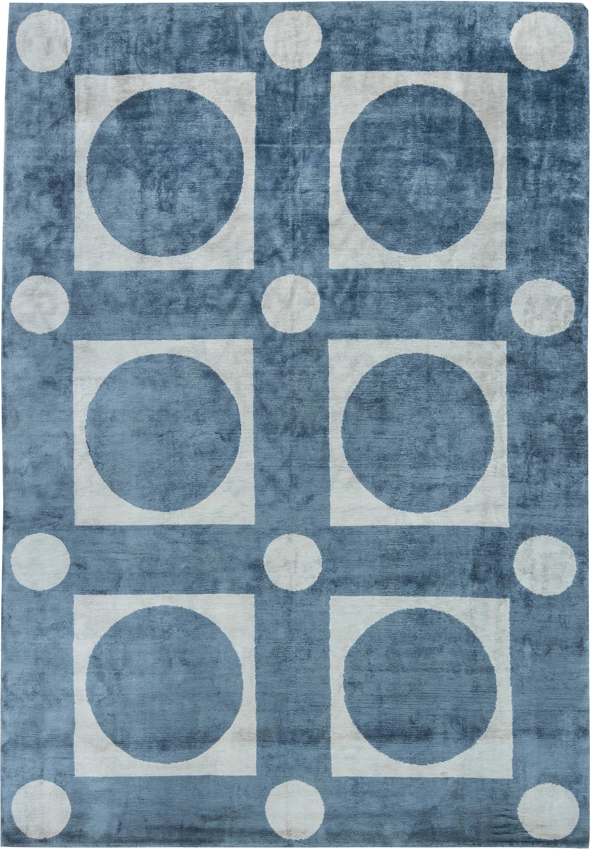 Tibetische moderne silk teppich