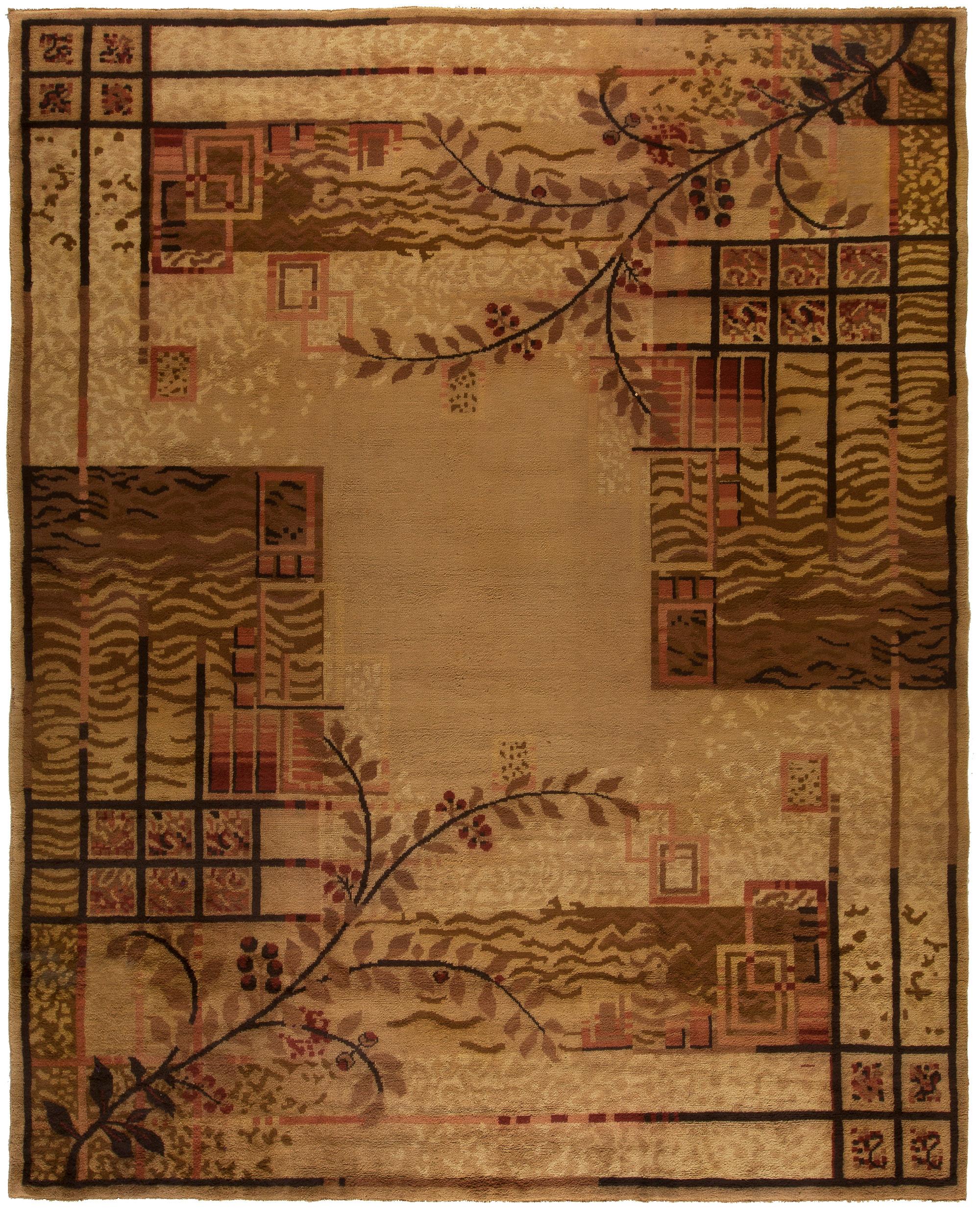 european art deco rugs carpets for sale antique vintage rug nyc. Black Bedroom Furniture Sets. Home Design Ideas