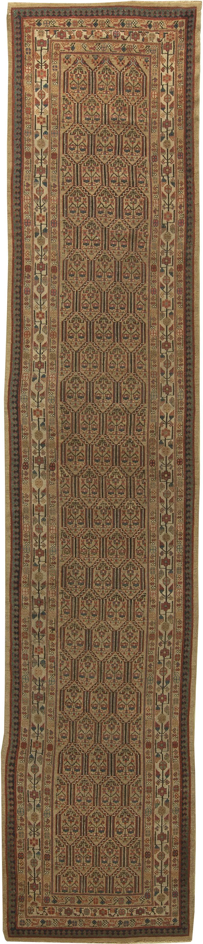 ... Antique Persian Hamadan Rug ...