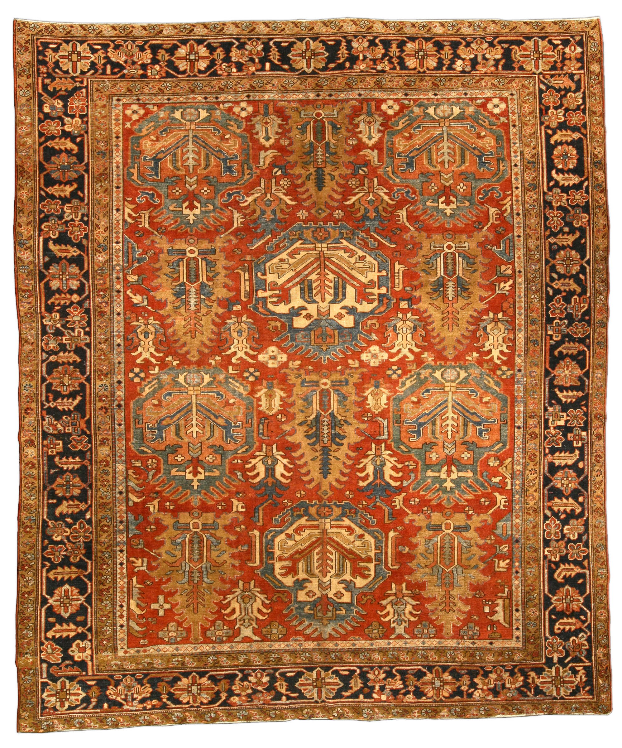 White Powder Room Rug