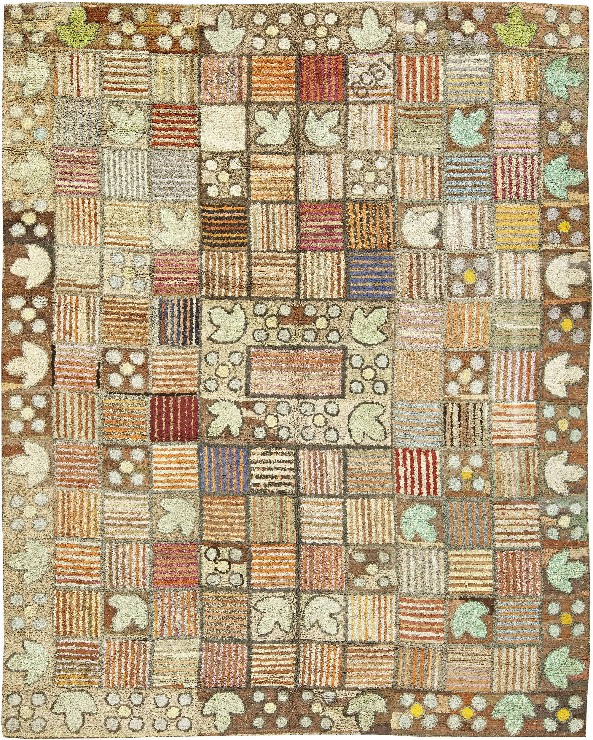 Hooked Rugs Rag Carpets For Sale Large Wool Floral Rug Nyc