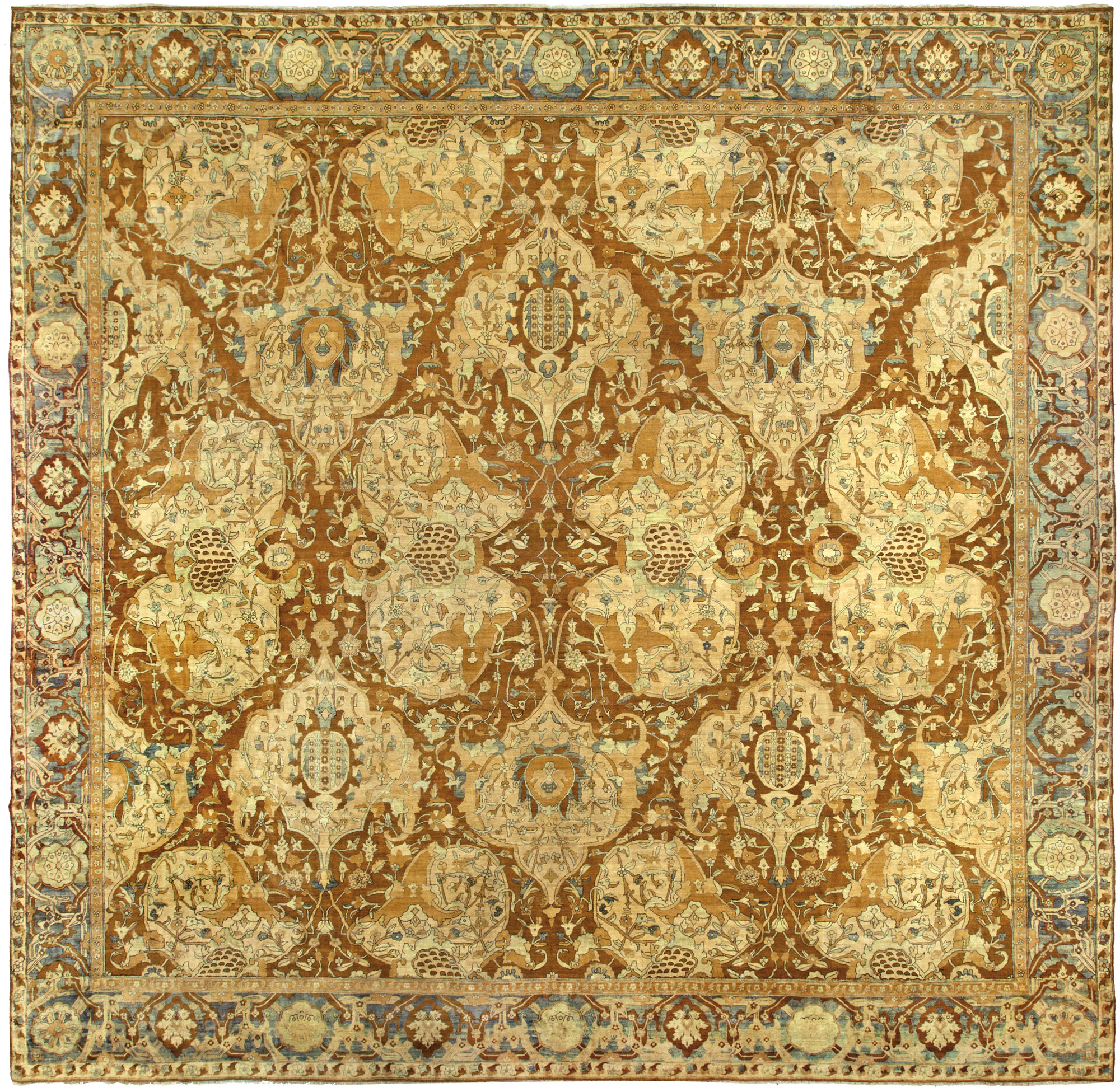 Antique Indian Rugs: North Indian Rugs & Carpets For Sale (Antique Oriental