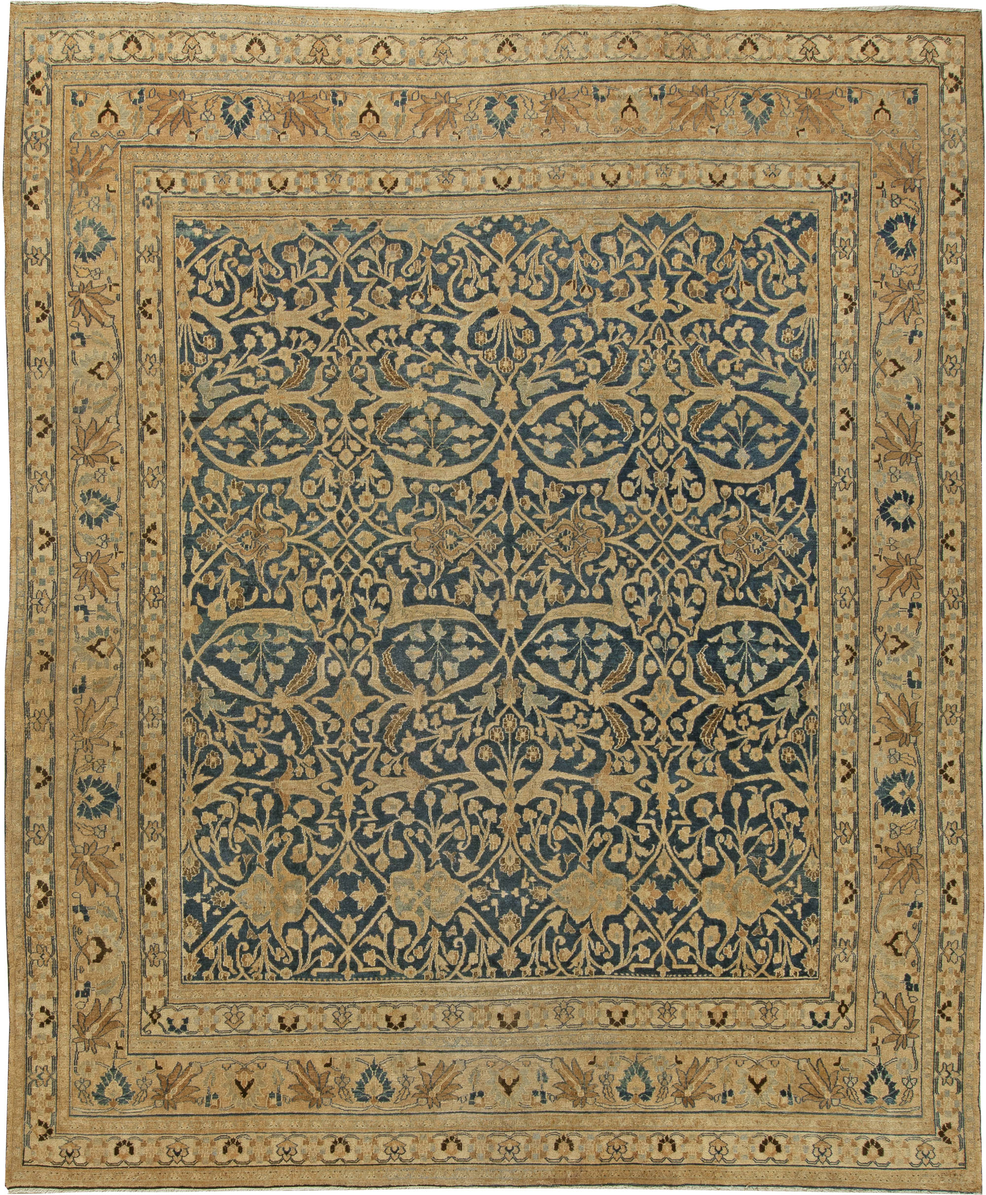 Meshad (Mashad) Rugs & Carpets For Sale (Antique Persian