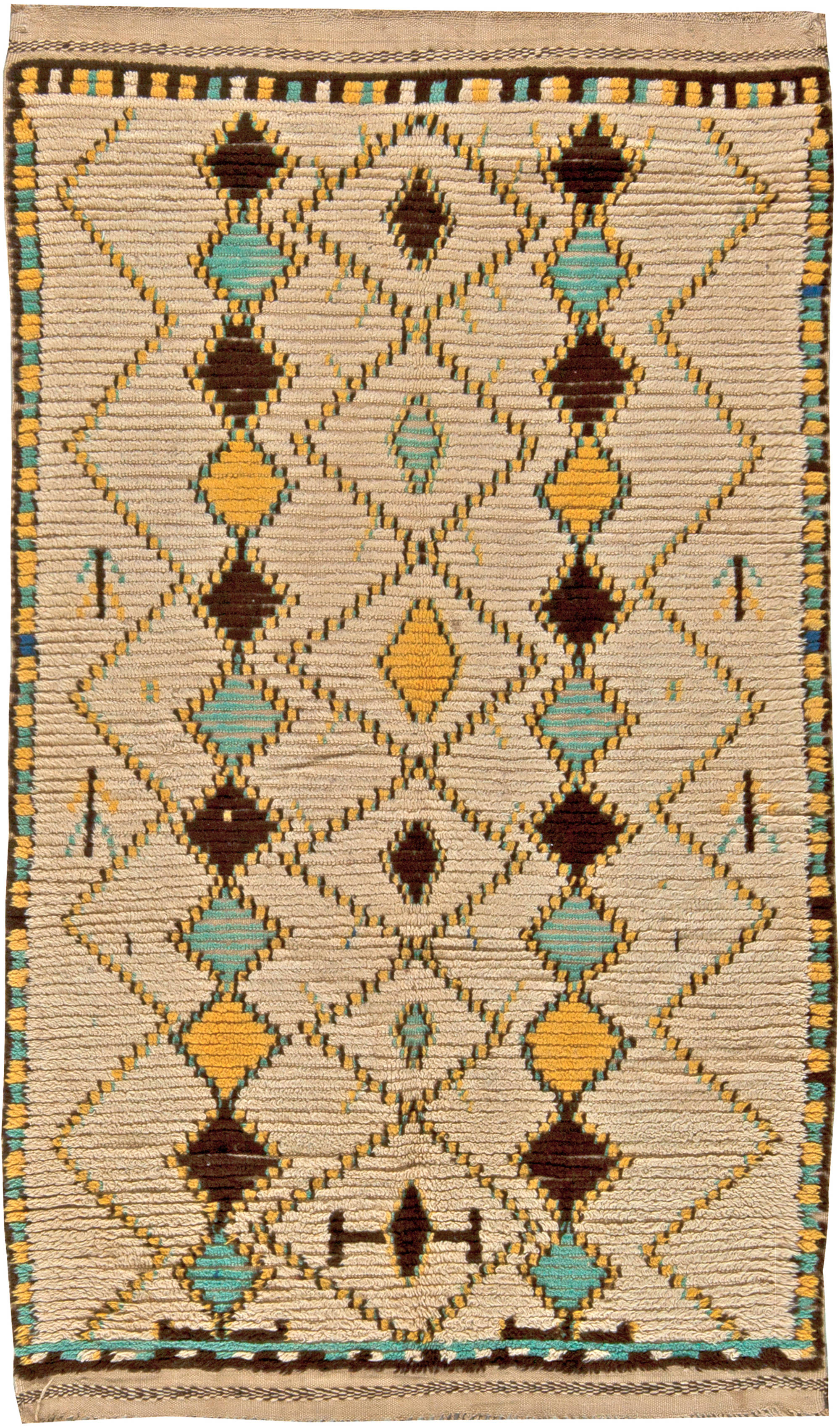 Captivating ... Vintage Moroccan Rug ...