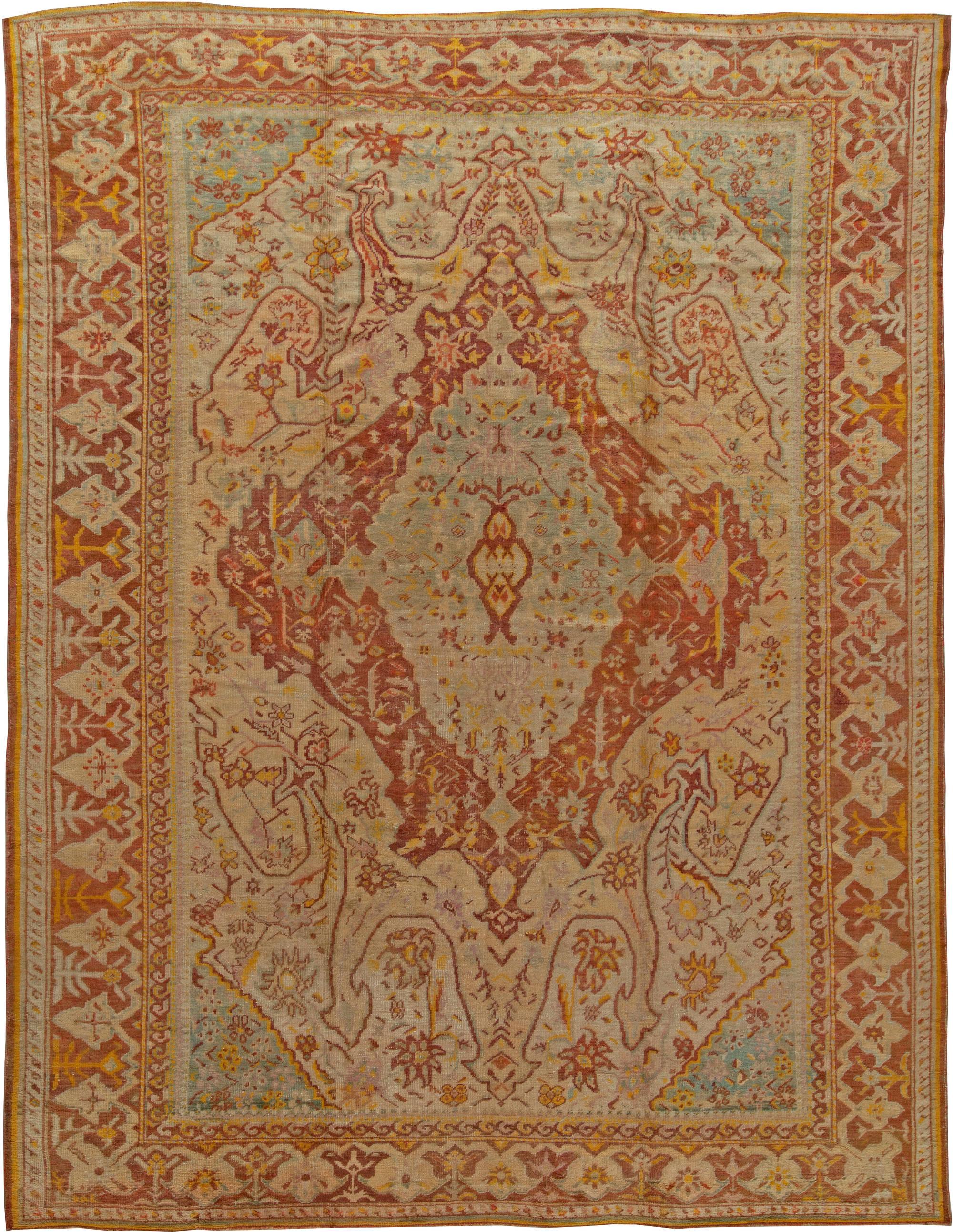 alfombras oushak y alfombras ushak en venta alfombra