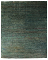 Green Modern Contemporary Rug
