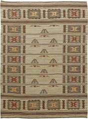 Swedish Flatweave Vintage Carpet