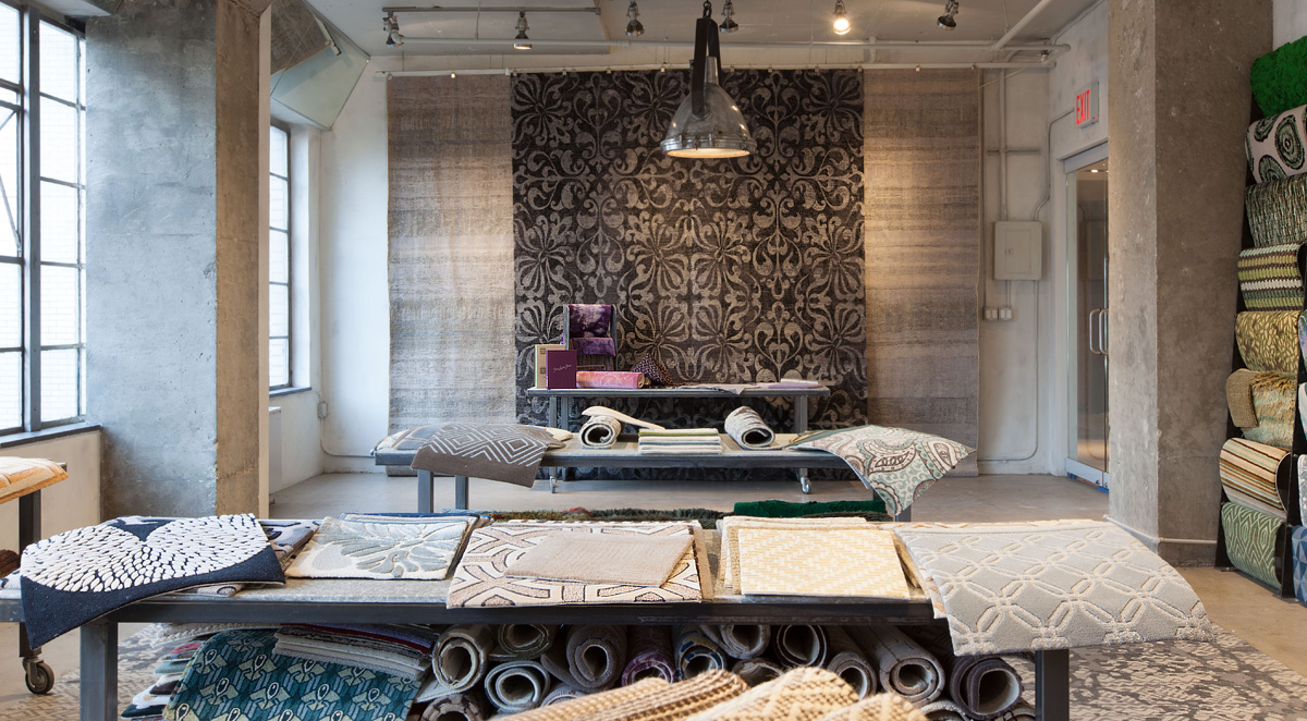 Decoration And Custom Rugs In Doris Leslie Blau Gallery