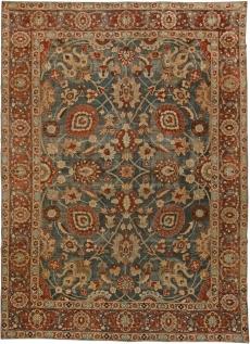 Una antigua alfombra persa