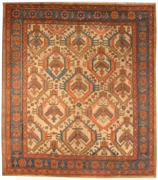 Antiker Persischer Bakshaish Teppich BB3909