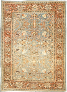 Antique Persian Sultanabad rug BB5618