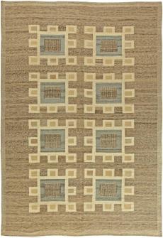 A Swedish Flat Weave Rug N11206