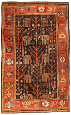 Antiker Persischer Bakhtiari-Teppich BB1427