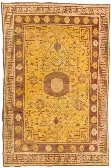 Antiker Samarkand (Khotan) Teppich BB4381