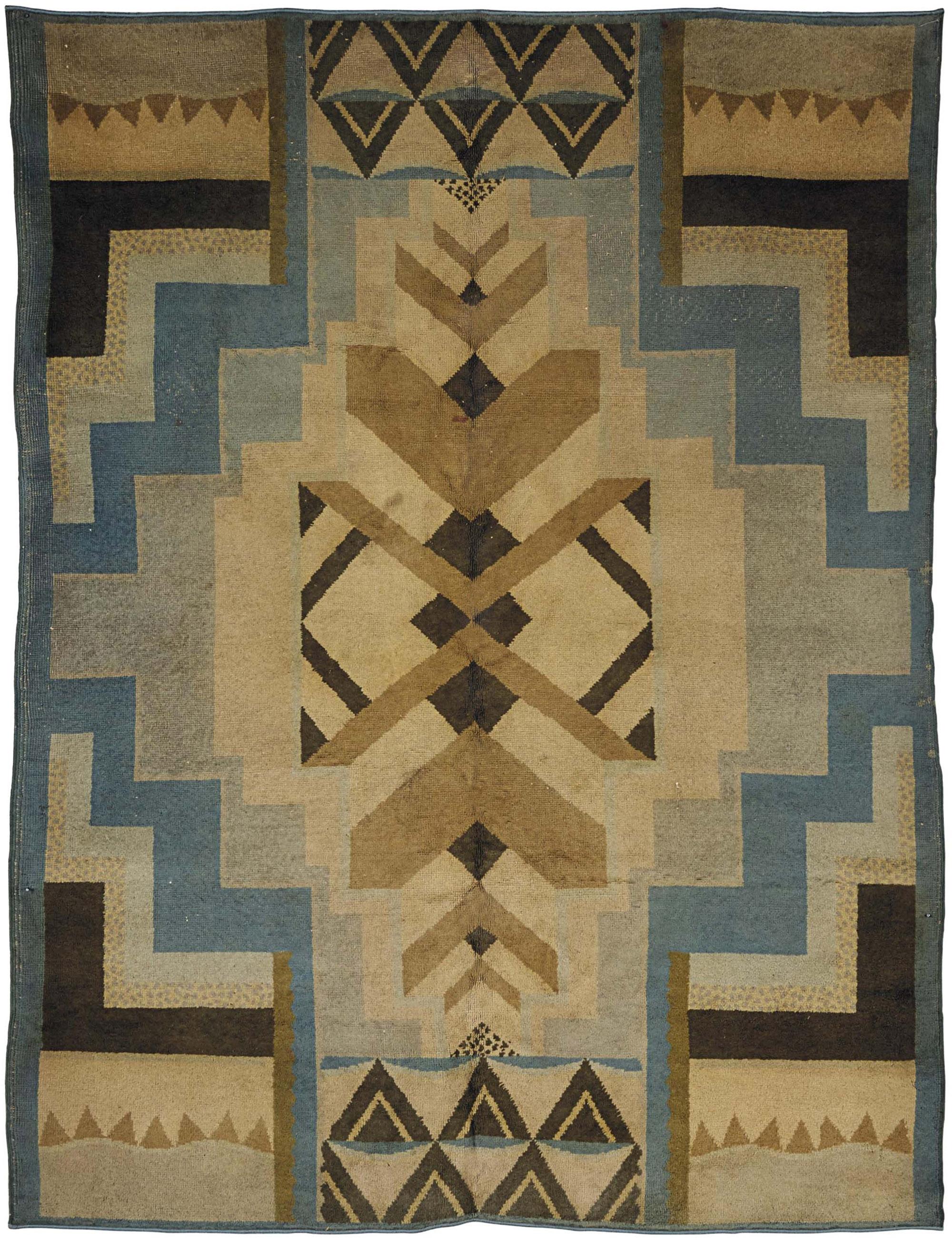 Unique Art Deco Rugs by Doris Leslie Blau YS47