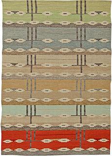 A Swedish Flat Weave Rug N10916