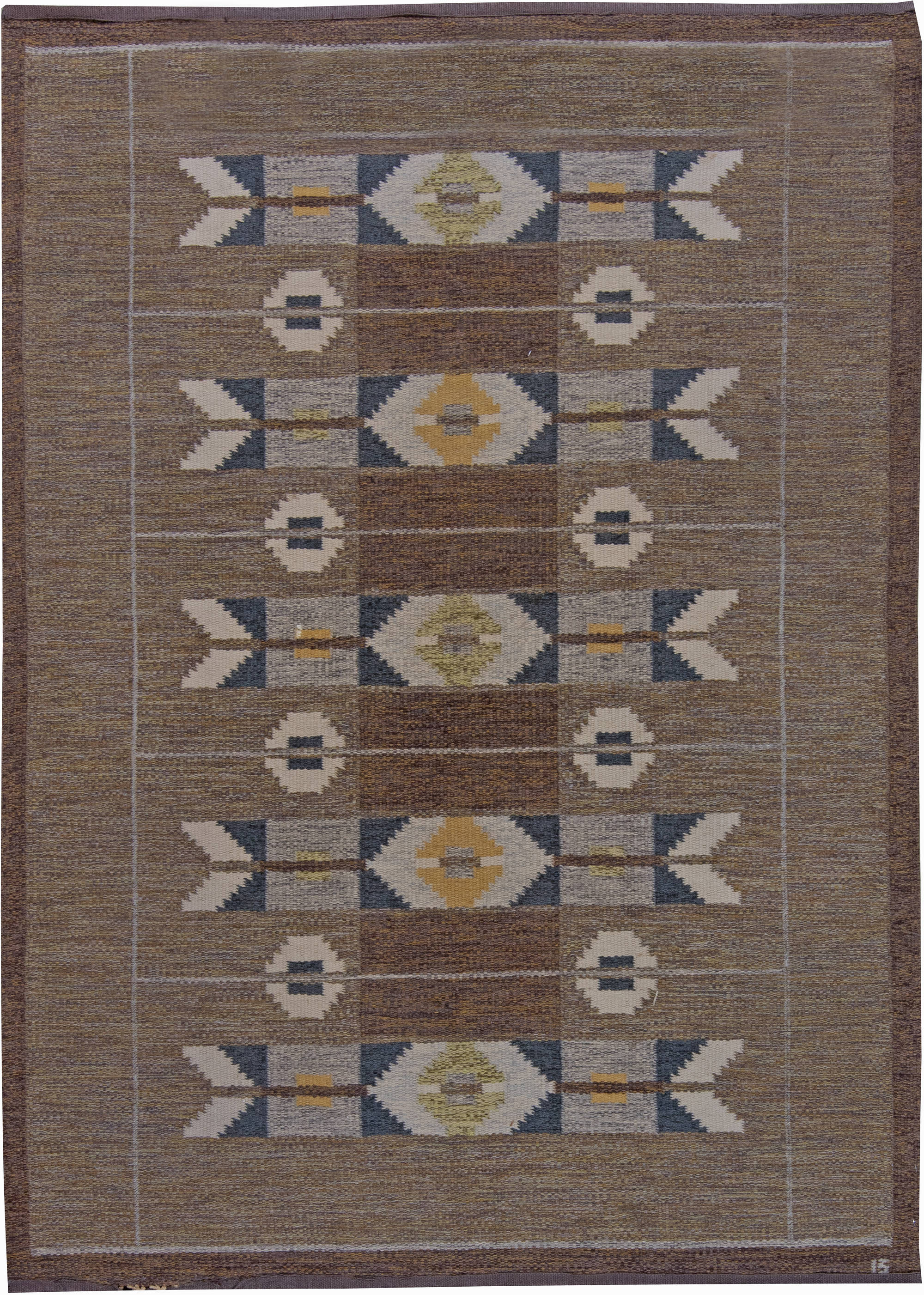 Scandinavian Rugs Swedish Carpets For Sale Flat Weave Nyc