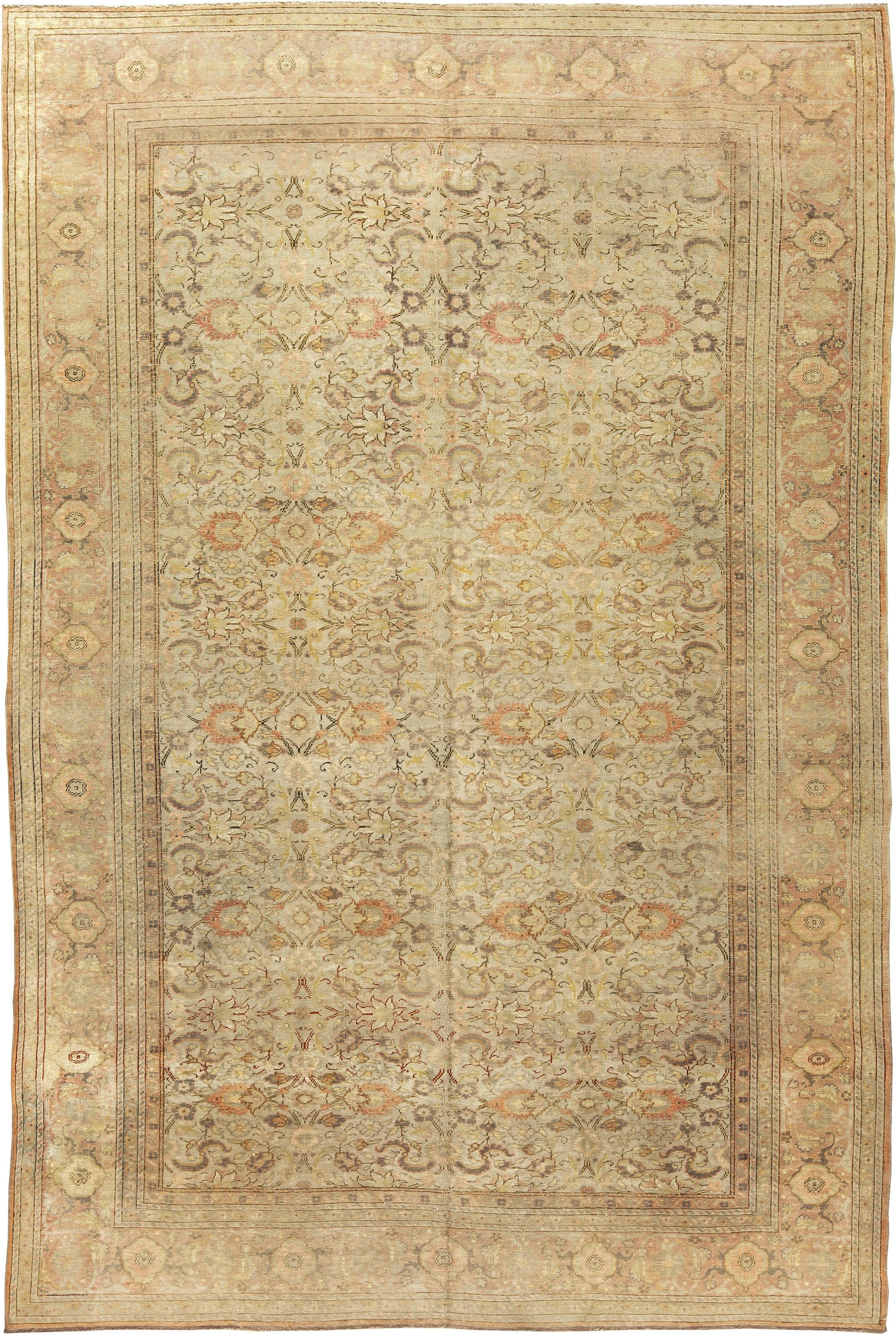 Antike türkische silk teppich