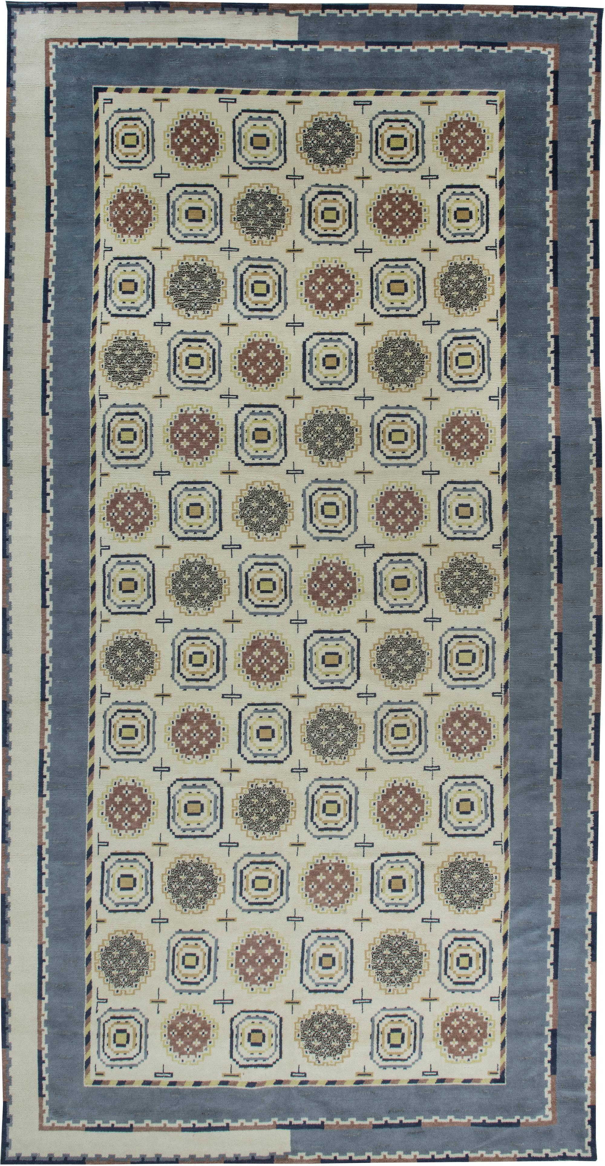 Zeitgen Ssische Swedish Inspired Teppiche Von Doris Leslie